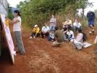 Community workshop in South America