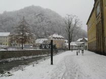 Winter at Tharandt Campus