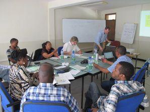 Kick-off workshop at Wondo Genet College, Ethiopia