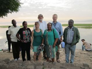 International WoodCluster project team: Uganda, Germany, Tanzania, Ethiopia