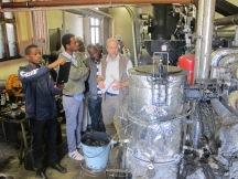 Gasification unit at a family-run sawmill