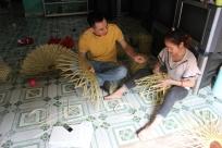 Interview bamboo handicraft producer