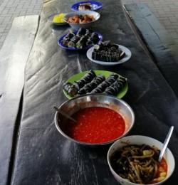 Korean food for dinner (©Toledo)