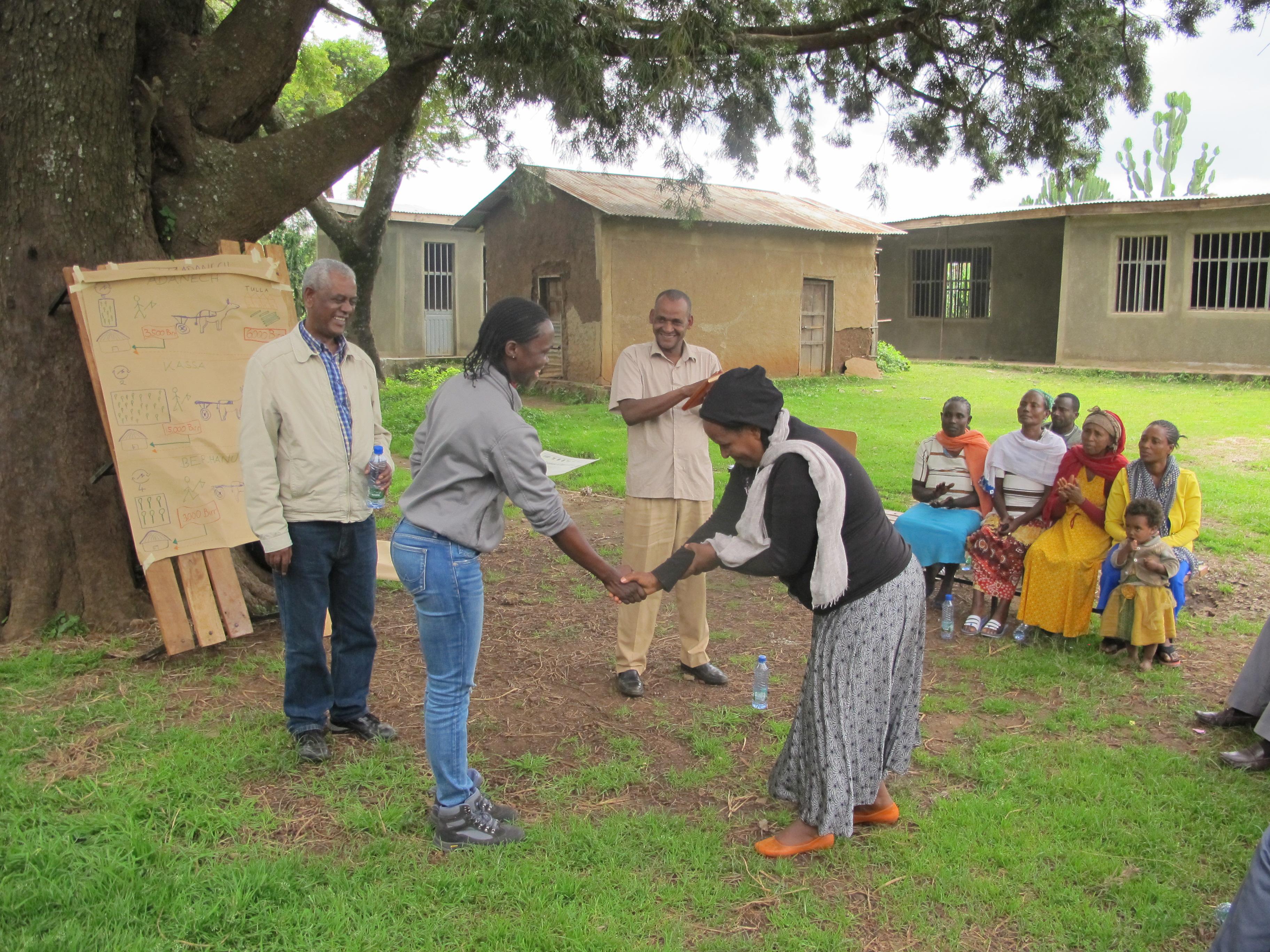 Training in the field – 2nd WoodCluster Field School in